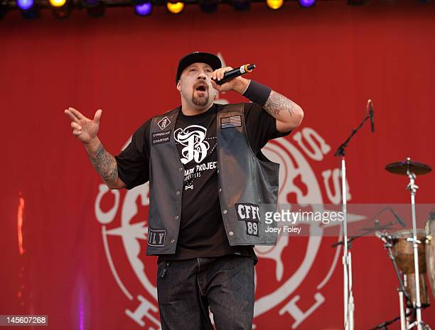Real of Cypress Hill performs live during the 2012 Rock On The Range festival at Crew Stadium on May 19 2012 in Columbus Ohio