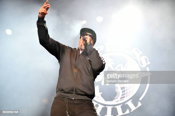 Real of Cypress Hill performs on stage as part of Jack's 12th Show at FivePoint Amphitheatre on October 7 2017 in Irvine California