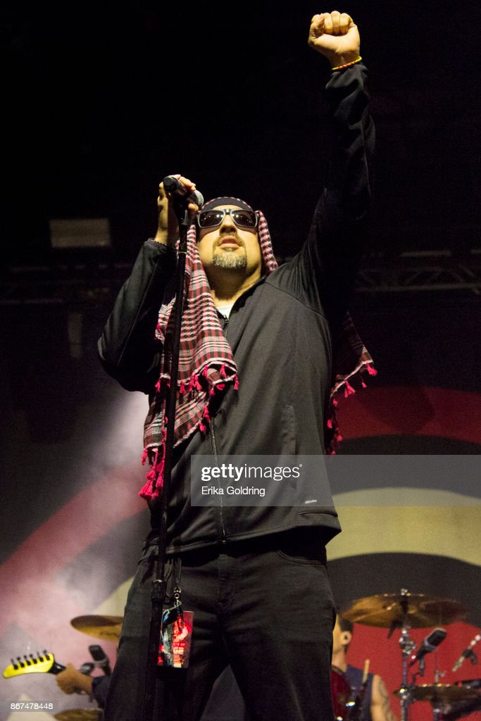 B-Real of Prophets of Rage performs during the 2017 Voodoo Music + Arts Experience at City Park on October 27, 2017 in New Orleans, Louisiana.