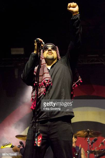 Real of Prophets of Rage performs during the 2017 Voodoo Music Arts Experience at City Park on October 27 2017 in New Orleans Louisiana