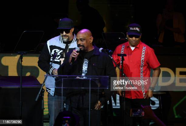 Real Sen Dog and 2 of Cypress Hill receive the Lifetime Achievement Award at the First Budtender Awards at Light Nightclub at Mandalay Bay Hotel and...