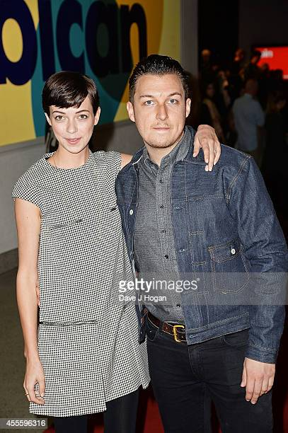 Breana McDow and Matt Helders attend the 20000 Days on Earth Gala preview screening at Barbican Centre on September 17 2014 in London England