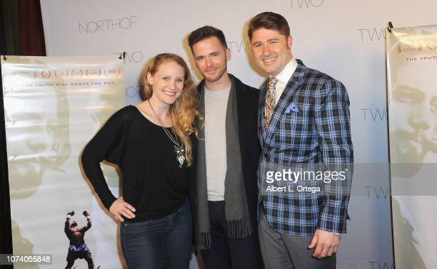 Breanna Jody Mason O'Sullivan and Nick Krammer arrive for the premiere of 'Heart Baby' held at The Ahrya Fine Arts Laemmle Theater on November 23...