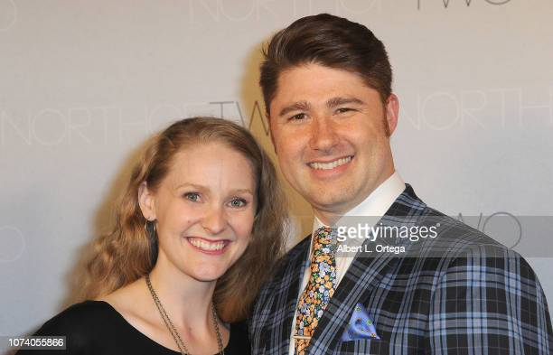 Breanna Judy and Nick Krammer arrive for the premiere of 'Heart Baby' held at The Ahrya Fine Arts Laemmle Theater on November 23 2018 in Beverly...