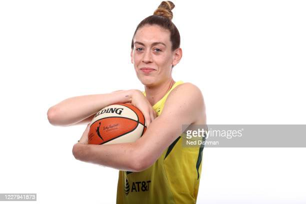Breanna Stewart of the Seattle Storm poses for a portrait during Media Day on August 5 2020 at IMG Academy in Bradenton Florida NOTE TO USER User...