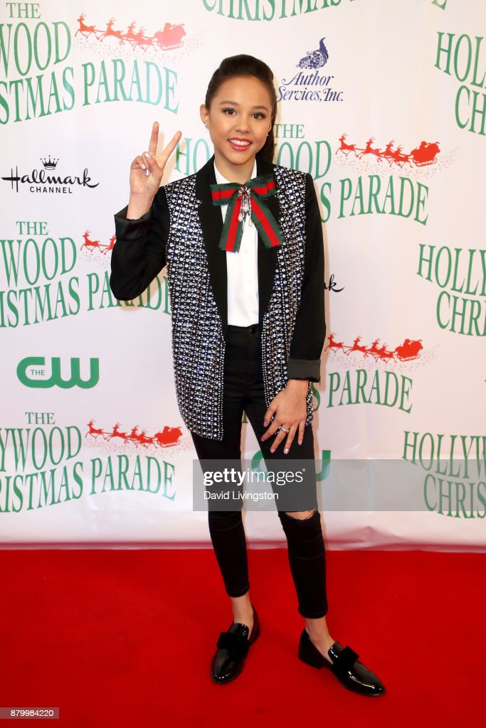 Breanna Yde at 86th Annual Hollywood Christmas Parade on November 26, 2017 in Hollywood, California.