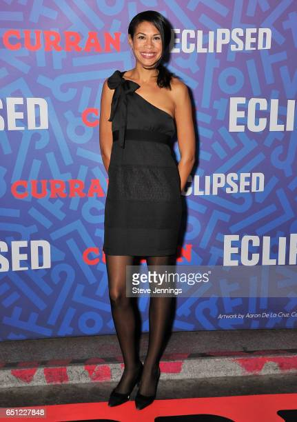 Breanna Zwart attends the celebration of Women's History Month on it's Opening Night of 'Eclipsed' at the Curran Theater on March 9 2017 in San...