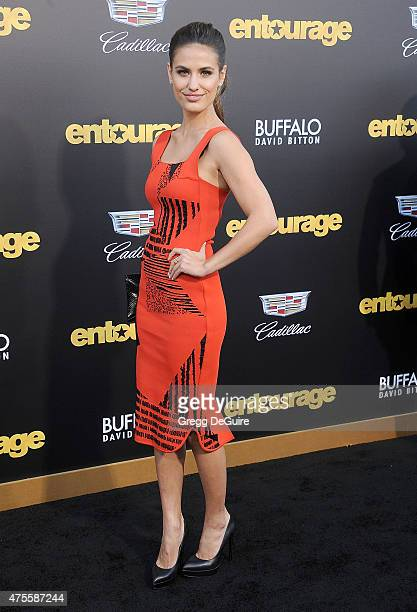 Breanne Racano arrives at the Los Angeles premiere of Entourage at Regency Village Theatre on June 1 2015 in Westwood California