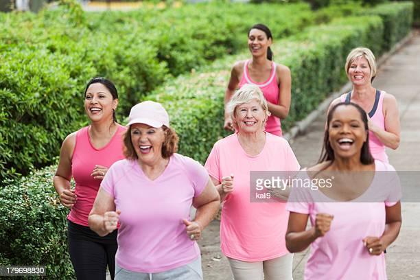 rally de cáncer de mama