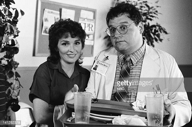 """Breathless"""" Episode 5 -- Pictured: Sagan Lewis as Doctor Jacqueline Wade, Stephen Furst as Doctor Elliot Axelrod -- Photo by: Trey Hamilton/NBCU..."""