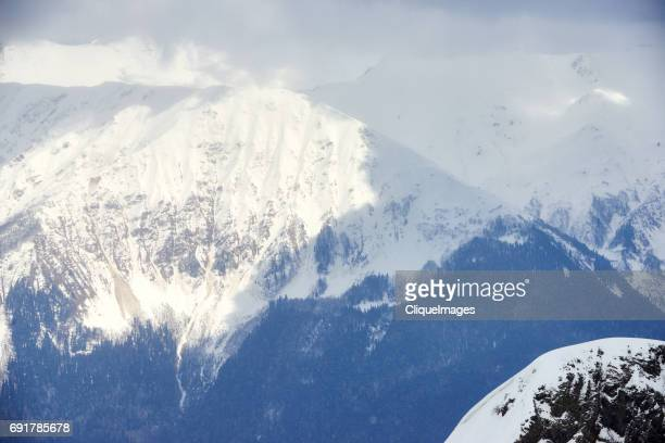 breathtaking mountain view - cliqueimages stockfoto's en -beelden