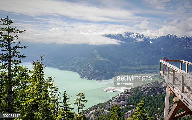 Breathtaking View of Howe Sound Fjord