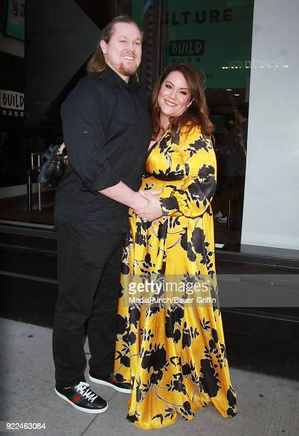 Breaux Greer and Katy Mixon are seen on February 21 2018 in New York City