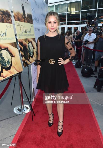 Brec Bassinger attends the premiere of Magnolia Pictures' Damsel at ArcLight Hollywood on June 13 2018 in Hollywood California