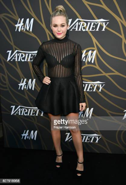 Brec Bassinger attends Variety Power of Young Hollywood at TAO Hollywood on August 8 2017 in Los Angeles California