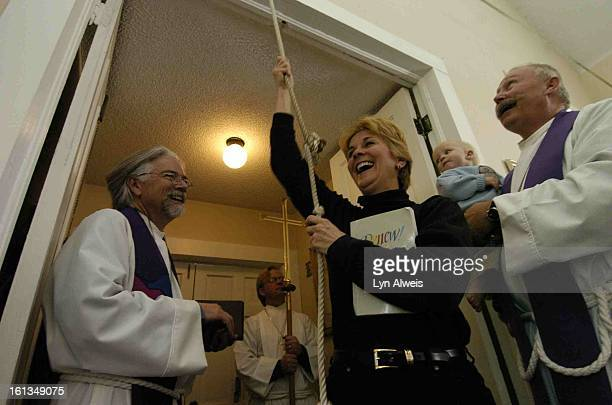 March 13 2005The Episcopal Church of Saint John the Baptist in Breckenridge Colorado is located at 100 S French Street Visitor Teresa Womack <cq> who...