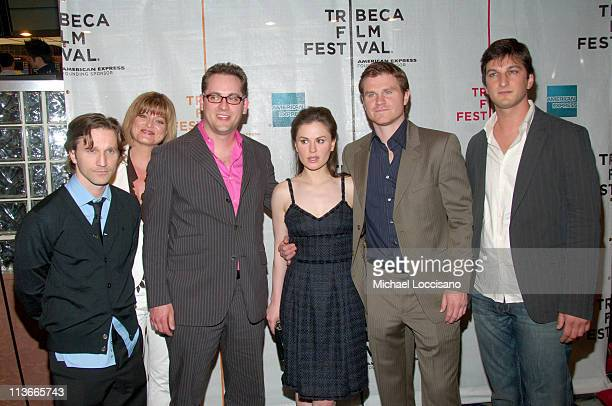 Breckin Meyer Adranna O'Neil Kyle Irving CoProducer Anna Paquin Andrew Paquin and Marshall Lewy Writer and Director