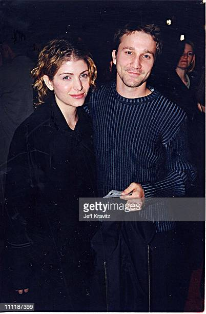 Breckin Meyer & Alanna Ubach at the 1998 premiere of Playing by Heart in Los Angeles.