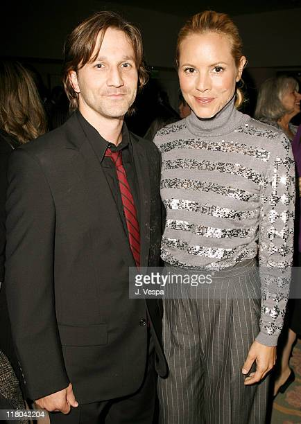 Breckin Meyer and Maria Bello during Children's Defense Fund's 16th Annual 'Beat the Odds' Awards Inside and Show at Beverly Hills Hotel in Beverly...