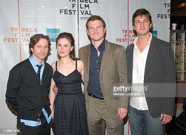 Breckin Meyer Anna Paquin Andrew Paquin and Marshall Lewy Writer and Director
