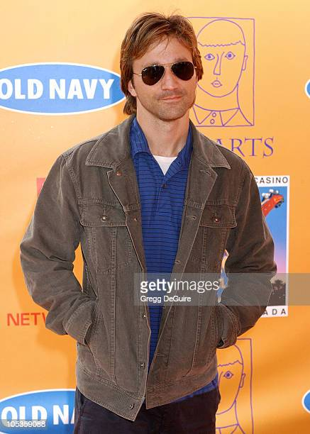 Breckin Meyer during 'Express Yourself' 7th Annual PS ARTS Charity Event Arrivals at Venice Beach in Venice California United States