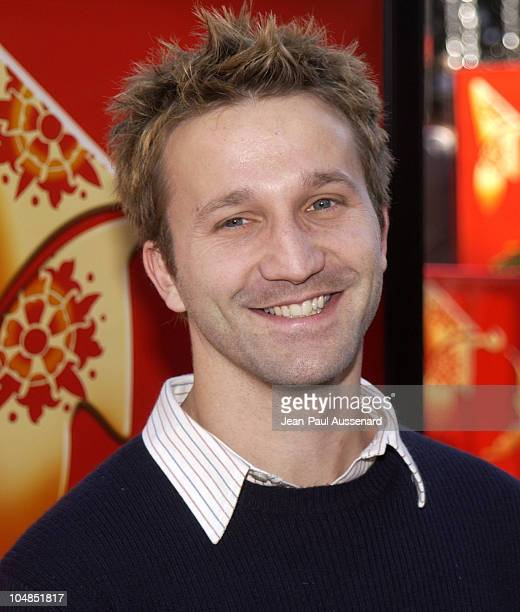 Breckin Meyer during 'Pinocchio' Los Angeles Premiere at Pacific's The Grove in Los Angeles California United States