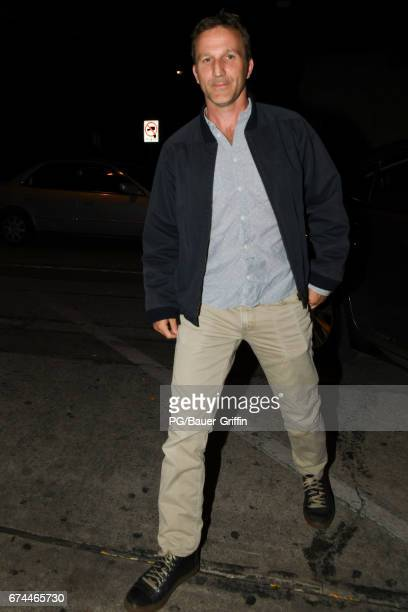 Breckin Meyer is seen on April 27 2017 in Los Angeles California