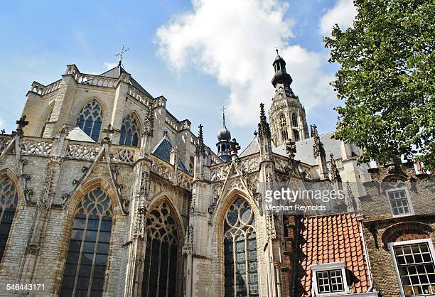 breda church - breda stock pictures, royalty-free photos & images
