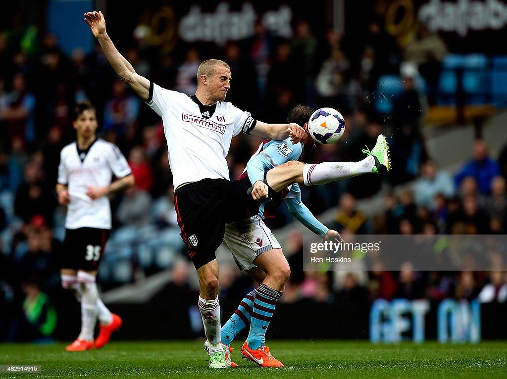 Aston Villa v Fulham - Premier League : News Photo