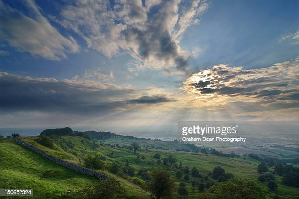 bredon hill - worcestershire stock photos and pictures