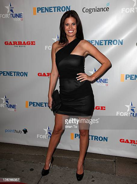 Bree Condon attends Garbage Los Angeles premiere at Grauman's Chinese Theatre on October 5 2011 in Hollywood California