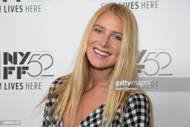 Bree Hemingway attends Listen Up Phillip during the 52nd New York Film Festival at Alice Tully Hall on October 9 2014 in New York City