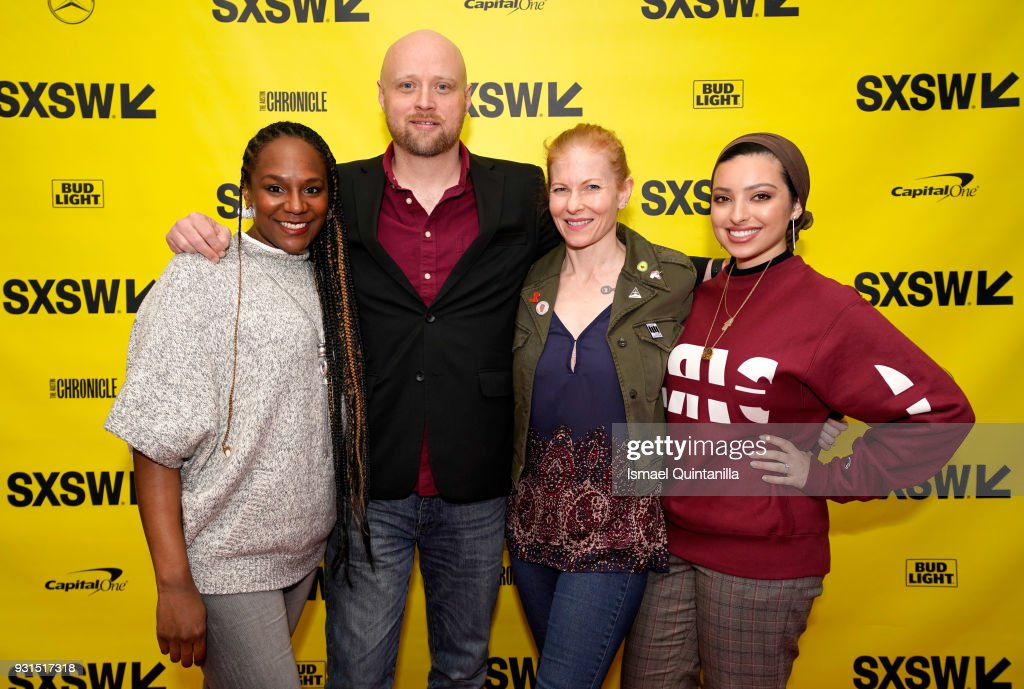 Bree Newsome, Ben Howe, Ana Marie Cox, and Noor Tagouri attend The Gifts of Faith: Cultivating Resilience during SXSW at Austin Convention Center on March 13, 2018 in Austin, Texas.