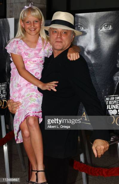 Bree Seanna Wall and Brad Dourif during Los Angeles Premiere of HBO's Deadwood Season 3 Arrivals at The Cinerama Dome in Hollywood California United...