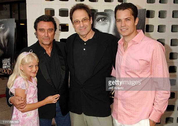 Bree Seanna Wall Ian McShane David Milch and Timothy Olyphant