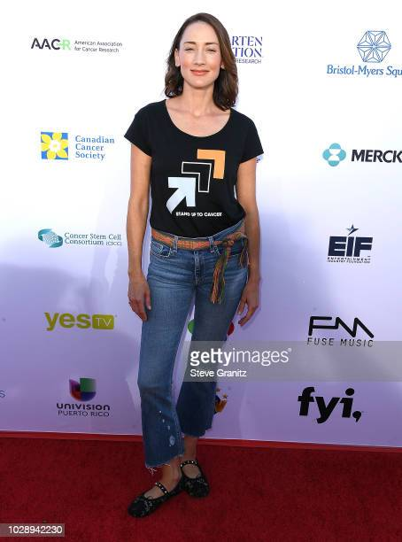 Bree Turner arrives at the Stand Up To Cancer Marks 10 Years Of Impact In Cancer Research At Biennial Telecast at Barker Hangar on September 7, 2018...