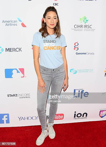 Bree Turner attends Hollywood Unites for the 5th Biennial Stand Up To Cancer A Program of The Entertainment Industry Foundation at Walt Disney...