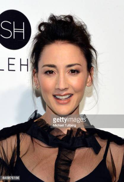 Bree Turner attends the 25th Annual Elton John AIDS Foundation's Academy Awards Viewing Party at The City of West Hollywood Park on February 26 2017...