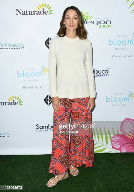 Bree Turner attends the 2nd Annual Bloom Summit at The Beverly Hilton Hotel on June 01 2019 in Beverly Hills California