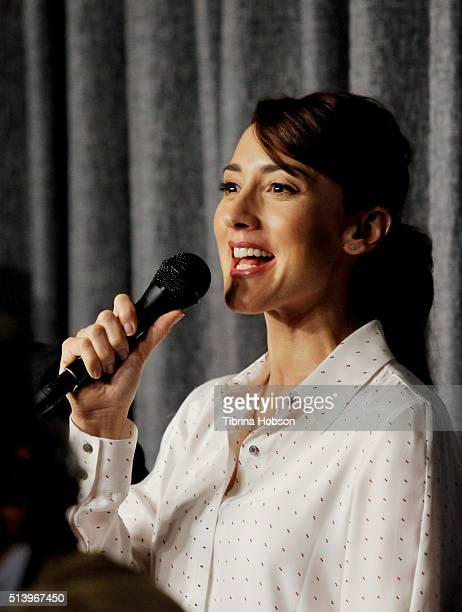 Bree Turner attends the SAGAFTRA Foundation Conversations with the 'Grimm' cast at SAGAFTRA Foundation on March 5 2016 in Los Angeles California