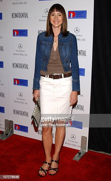 Bree Turner during Anne Hathaway Oliver Hudson and Anson Mount Host Fundraiser for Defense for Children International Hosted by LA Confidential at...