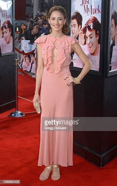 Bree Turner during Just My Luck Los Angeles Premiere Arrivals at National Theatre in Westwood California United States