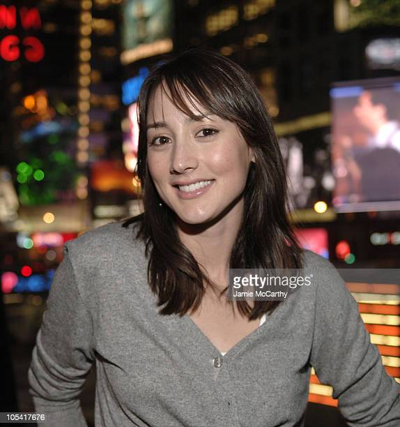 Bree Turner during Launch Party for Toshiba GigaBeat MP3 Player at Times Square Studios in New York City New York United States