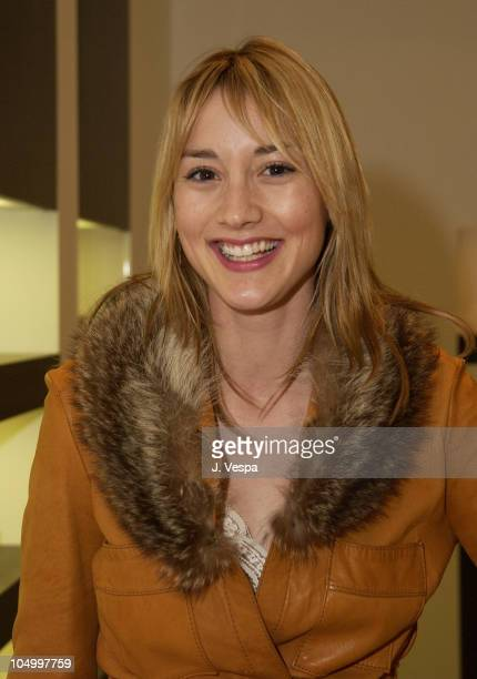 Bree Turner during Movieline Hugo Boss Party at Hugo Boss Store South Coast Plaza in Costa Mesa California United States
