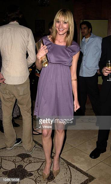 Bree Turner during PlayStation 2's After Party for Movieline's 4th Annual Young Hollywood Awards at The Highlands in Hollywood California United...