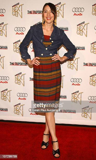 Bree Turner during The Hollywood Reporter Next Generation Class of 2005 Presented by Audi Arrivals at Montmarte Lounge in Los Angeles California...