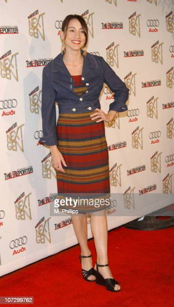 Bree Turner during The Hollywood Reporter's Next Generation Reception Presented by Audi Red Carpet in Los Angeles California United States