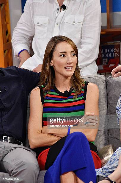 Bree Turner from Grimm visits the Fandango Studio at San Diego ComicCon International 2016 on July 23 2016 in San Diego California Cast members Bree...