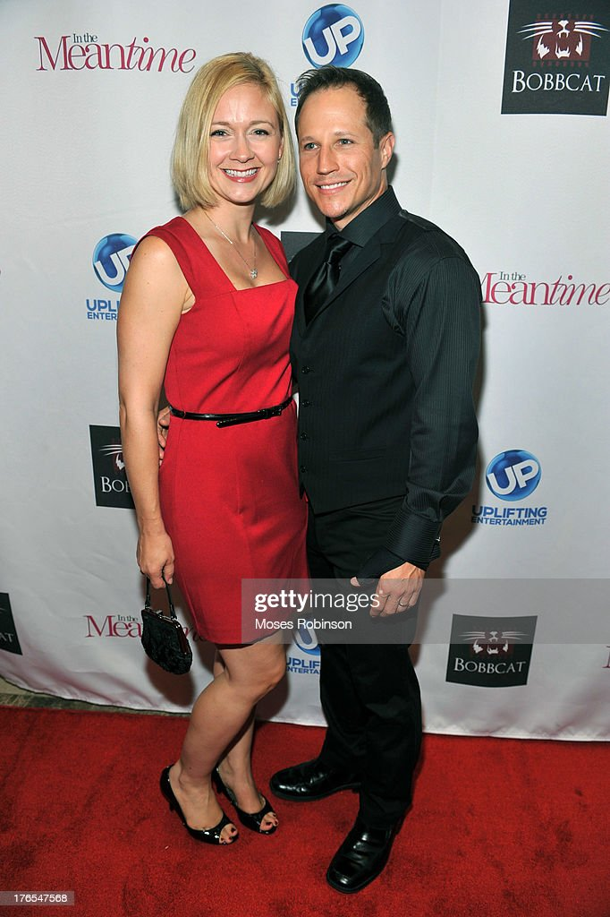 Bree Tuttle and actor Kendal Tuttle attend the premiere of 'In the Meantime' at the Woodruff Arts Center on August 14, 2013 in Atlanta, Georgia.