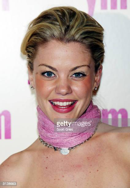 Bree Williamson arrives at the 5th Annual YM MTV Issue party at Spirit March 24 2004 in New York City